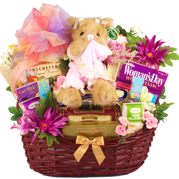 Recovery Deluxe Get Well Basket