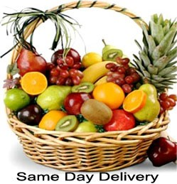 fruit basket delivered same day
