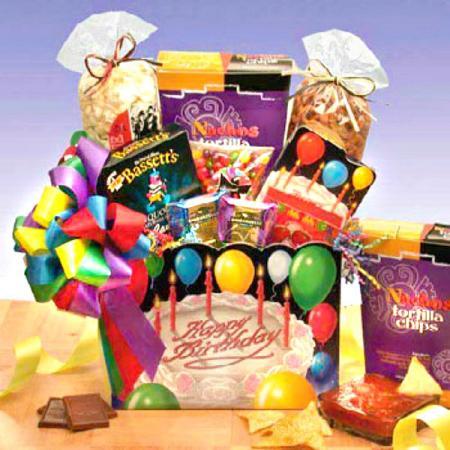 Festive Birthday Gift Box