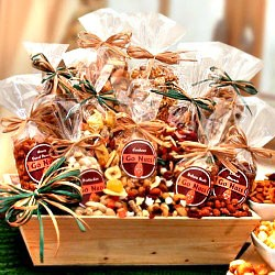 Nuts and Snacks Gift Tray