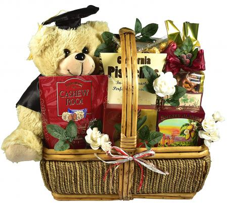 graduation congratulatoins to the graduate gift basket