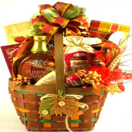 Fall Breakfast Gift Basket