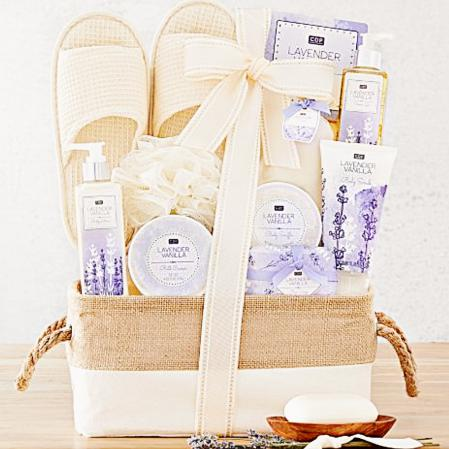 spa gifts vanilla lavender