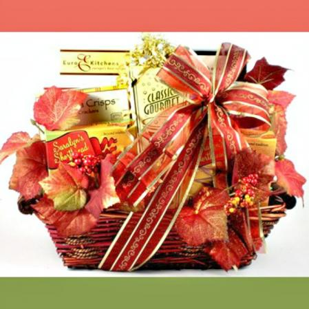 Deluxe Thanksgiving Gift Basket