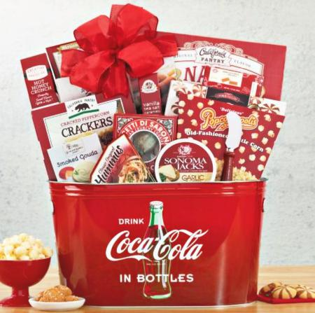 COCO COLA GIFT BASKET