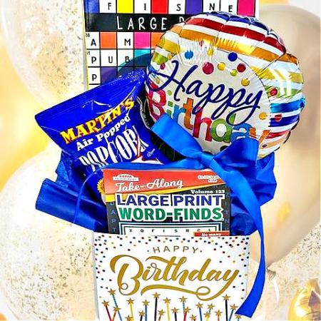 Happy Birthday Brain Games Gift