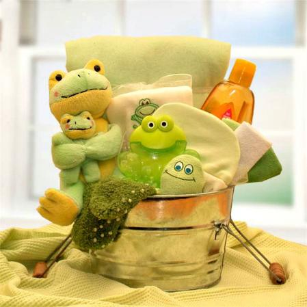 Polywags New Baby Gift Basket