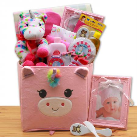 dainty baby gift basket