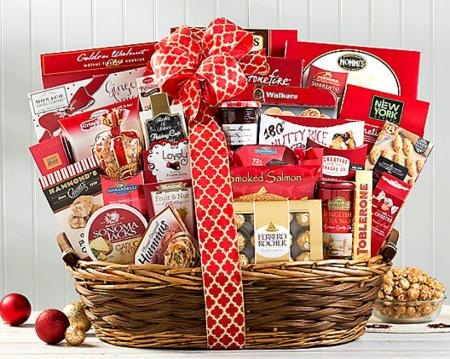 Best Christmas Party Gift Basket