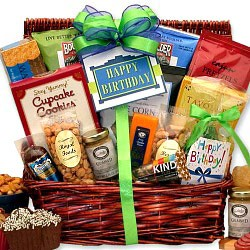 Birthday Gift Basket for Men
