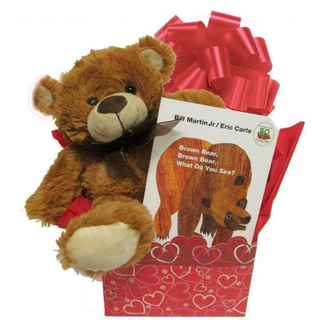 brown bear gift for baby