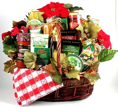 Italian Style Family Christmas Basket