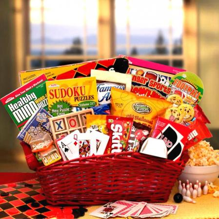 Entertainment Gift Basket for Children
