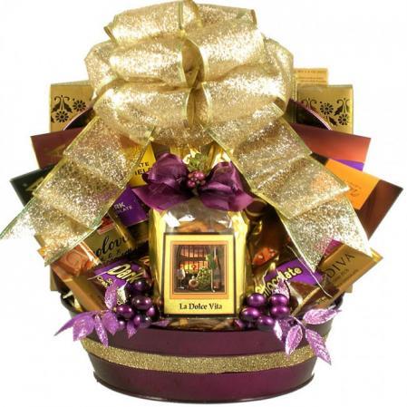 Large Chocolate Decadence Gift Basket