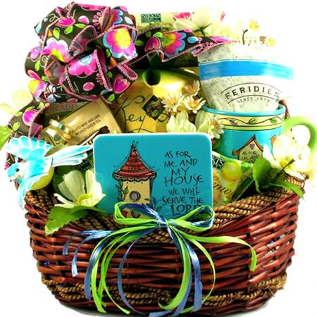 Inspirational Christian Gift Basket