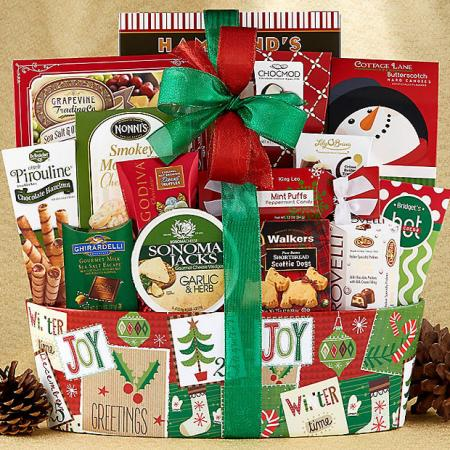 Merry Christmas To All Gift Basket