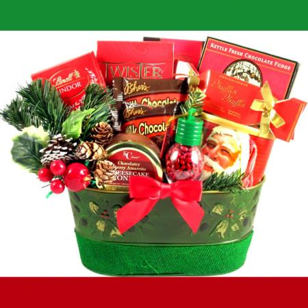 Christmas Surprise Basket