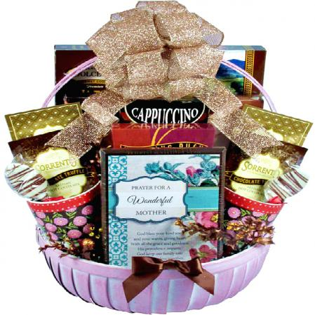 coffee gift basket for mom