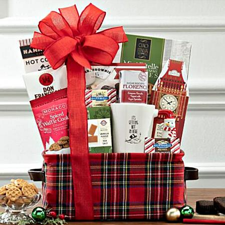 hot chocolate gift tote