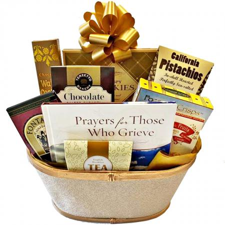 condolences basket