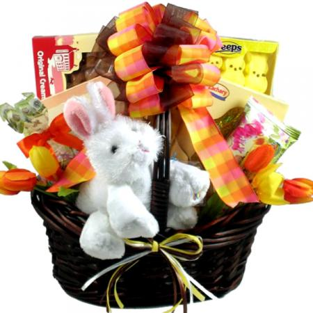 Happy Easter Bunny Basket