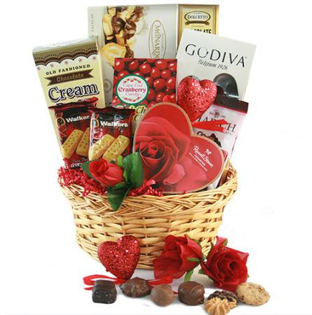 forever my love valentines day gift basket