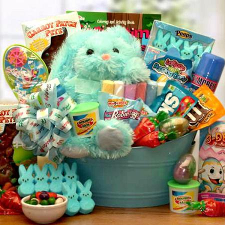 Little princess easter gift basket my easter bunny basket negle Image collections