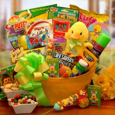 Easter Sunshine Gift Basket