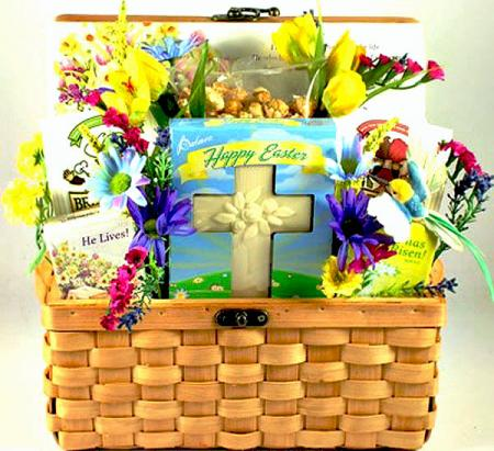 Easter Blessings, Easter Gift Basket