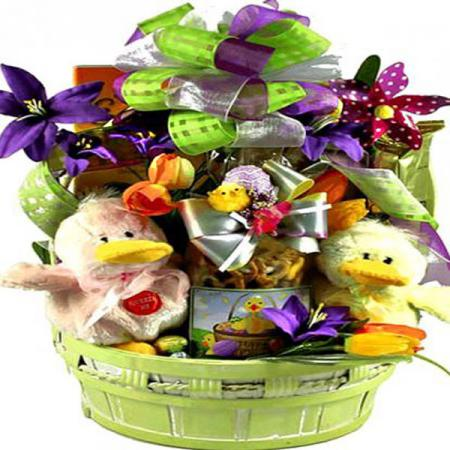 Ducky Easter Baskets
