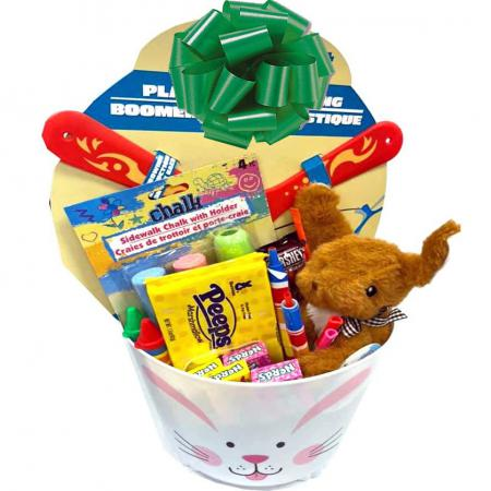 Fun Kids Easter Basket for Boys or Girls Ages 3 to 11