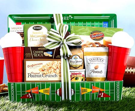 Gridiron Football Gift Basket