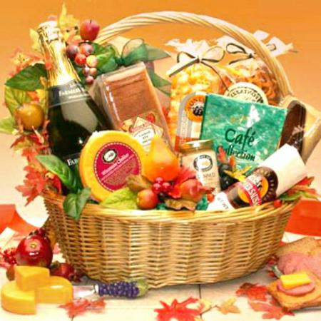 Fall Gourmet Gift Baskets