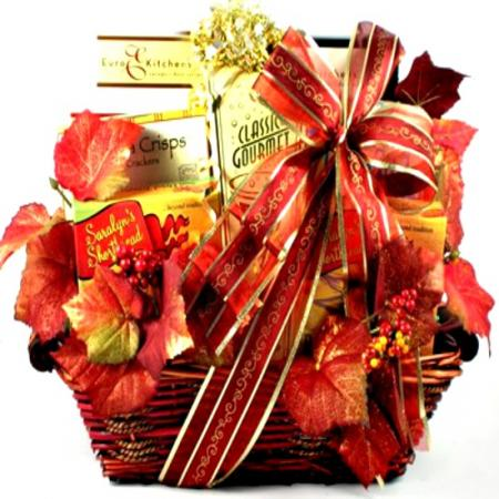 Deluxe Fall Gift Basket Collection