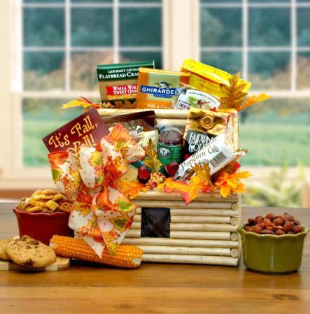 Log Cabin Thanksgiving Gift Idea