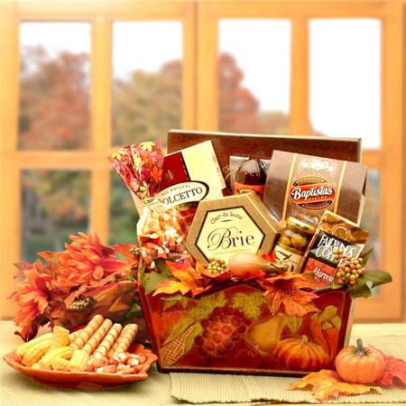 Fall Harvest Deluxe Gift Basket