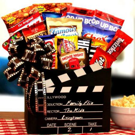 Family Flix Movie Night Gift Box
