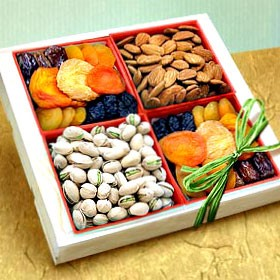 Fruit and Nut Gift Tray