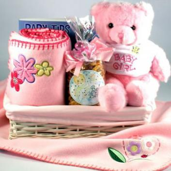 New Baby Gift Basket, Welcome To The World