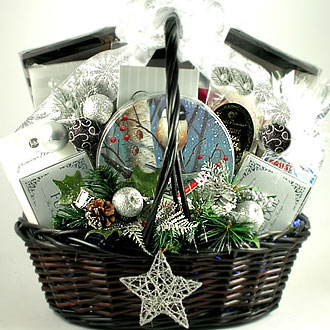 Starry Night Christmas Gift Basket