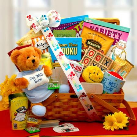 Get Well My Friend Gift Basket
