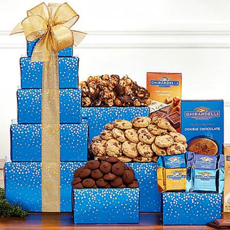 Chocolate Gift Tower