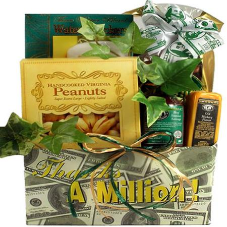 Gift Basket of Appreciation To Say Thank You