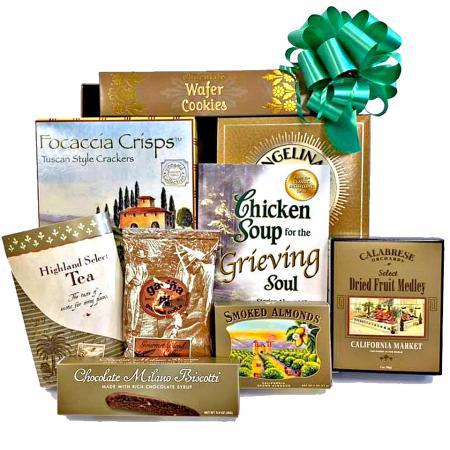 grieving soul sympathy gift basket