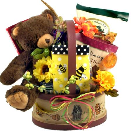 Honey Bear Gift Basket