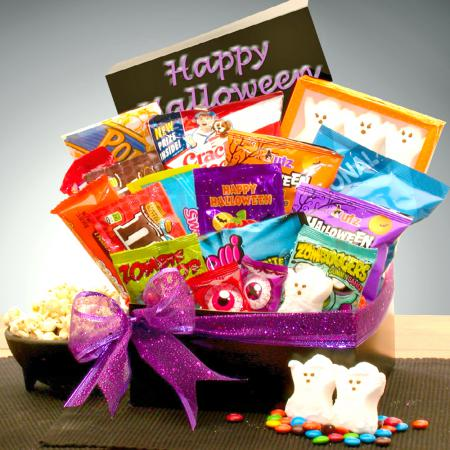 Halloween Gift Baskets Candy Crush