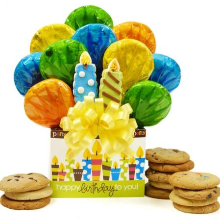 Happy Birthday Cookies Gift Box