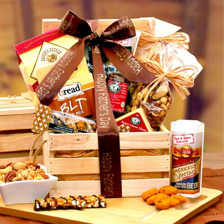 Father's Day Premium Nuts & Gourmet Snacks