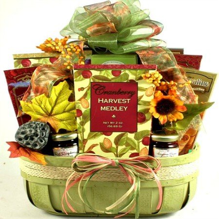harvest gift baskets
