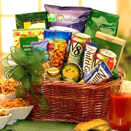 Low-fat-gift-basket